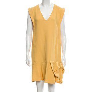 MIU MIU Bow-Accented Mini Dress Size: L | US10